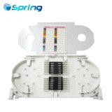 視覚のファイバーのコンポーネントのファイバーのFTTH/FTTXボックスのための光学スプライスの皿
