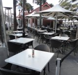 현대 디자인 Corian 정연한 대중음식점 커피용 탁자 또는 식탁