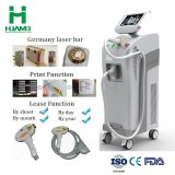 Professional 808nm Máquina de remoção de pêlos a laser de diodo com função de impressão