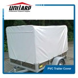 Roll UP Light Blue 900GSM PVC Trailer Cover with Flaps