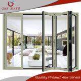 Alluminio e portello esterno Bi-Piegante di vetro dell'interiore del portello