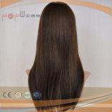 Calor humano Brown Remy cabello virgen de la parte superior de la piel Topper (PPG-L-01288)