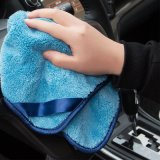 Cepillo micro modificado para requisitos particulares de la colada de coche de la fibra para la limpieza del coche