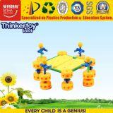 Brinquedo plástico magnético da instrução do jogo do enigma com melhor material
