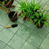 쉬운 지면 양탄자 도와를 맞물리는 옥외 정원 조경 훈장 슬레이트 기와 및 대리석은 설치한다