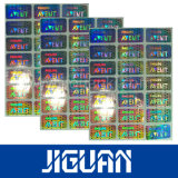 De anti-Valse Sticker van uitstekende kwaliteit van het Hologram van het Etiket Waterdichte Aangepaste Veilige