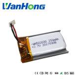 de Batterij van het Lithium 502030pl 250mAh voor Spreker/Bluetooth
