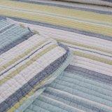 熱い販売のSize Strip Pattern Quilts暖かいパッチワークキルト王