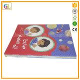 Servizio di stampa del libro di storia del grippaggio perfetto di colore completo