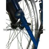 Desbloquear rápido, sillón de ruedas funcional, de acero