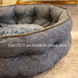 Fabrik-runde Hundebett-Sofa-Haustier-Produkt-Luxuxhaustier-Sofa