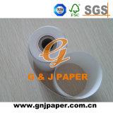 Papel de imprenta termal de la caja registradora en rodillo en China
