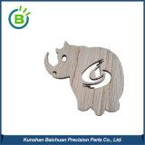 Bck0227 Corte Láser Logotipo personalizado gratis animales decoración Adornos colgantes de madera de forma artesanal de madera Navidad