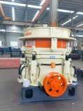 Trituradora hidráulica móvil de gran alcance fuerte del cono del alto manganeso