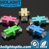 De Optische Adapter van de Vezel van Sc met Transparant Stoflaken