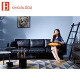 Strato di cuoio italiano del sofà di Seater Napa del contemporaneo 3 della mobilia del salone