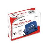Comercio al por mayor de dos orificios de perforación de papel metálica con una buena calidad