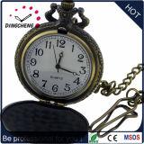Reloj Pocket del OEM de la caja de la aleación