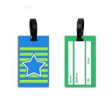 Etiqueta de bagagem de plástico grosso barata &sacola plástica Tags
