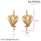91573 Form-Inner-Entwurfs-Kreuz-Gold überzogener Schmucksache-Ohrring