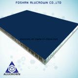 Les panneaux en aluminium à revêtement PVDF Honeycomb pour mur habillages
