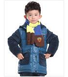 Теплая зимы куртка вниз для мальчика