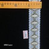 5cmの珊瑚のイブニング・ドレスの伸張のレース、伸縮性があるランジェリーのレース、結婚式のレースの正方形Hme898
