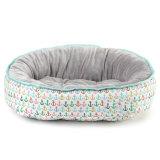 Runder Hundebett-Haustier-Bett-Vlies-Hundebett-Hersteller-Hundebett-Plüsch-Hundebett-Hersteller