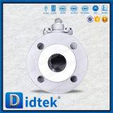 Vávula de bola de flotación del acero inoxidable A105 de Didtek Dn50