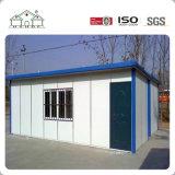 La maison modulaire préfabriquée de bâti léger bon marché de structure métallique/construction vivante mobile/a préfabriqué la Chambre provisoire