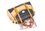 標準的な学生かばんの女性のハンドバッグPUのBag (WDL0726)革ハンドバッグの女性