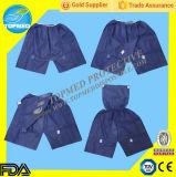 Pantalones cortos disponibles no tejidos para la examinación del hospital, pantalones disponibles de Colonoscope