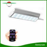 70 LED lumière solaire avec détecteur de mouvement Radar cinq modes de travail de la Lampe de Jardin étanche avec télécommande