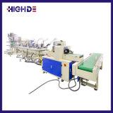 De automatische het Vouwen Natte Verpakking veegt de Machine van de Verpakking van het Bestek van het Servet af