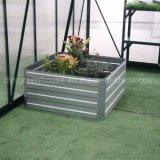 Aço galvanizado levantadas Garden Crescer Bed chapas nervuradas Jardim Caixa da plantadeira levantada Horta Bed (RDSG0909030-Z2)