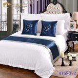 Vlag van het Bed van het Linnen van het Bed van de Polyester van 100% werpt de Decoratieve Hotel Afgedrukte/het Bed (JRL065)