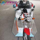 Los niños divertidas atracciones Parque de Atracciones Atracciones motocicleta eléctrica de forma vía tren en venta