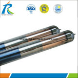 Tres grupos de tubo de vacío de vidrio solar Calentador Solar de agua del tubo (etc)