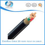 Conducteur en cuivre avec isolation en PVC prix d'usine le fil électrique