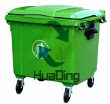 1100L Schwer-Aufgabe Industry Food Disposal Used Sanitary Dustbins