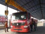 /Foldableまっすぐなクレーンが付いているHOWO 6X4のクレーンによって取付けられるトラック