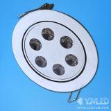 EINBAULEUCHTE MIT 6W LEDS (YJM-DB-6X1W-W)