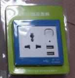 Стенная розетка USB Mulit Type, стенная розетка USB Twin, стенная розетка Universal с USB