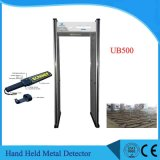 Pantalla LED de 6 zonas de detector de metales del marco de puerta Puerta de seguridad