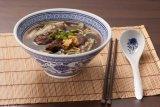 cuchara de sopa del servicio de mesa 100%Melamine (QQBK106-1)