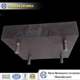 Impacto de desgaste del panel de goma de cerámica con la instalación del perno (300 * 300, 500 * 500 mm)