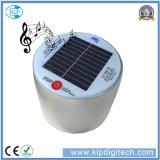 LEIDENE van de Prijs van de fabriek Waterdichte Opblaasbare ZonneLamp met Spreker Bluetooth
