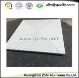 Потолок роскошного и просто ощупывания алюминиевый кроет панель черепицей смеси &Aluminum