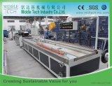 Machine en plastique en bois d'extrudeuse (WPC) de profil d'extrusion froide