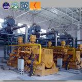 물 냉각 무브러시 모터 20kw - 500kw 석탄 침대 가스 발전기 세트